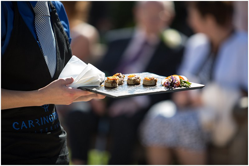 Canapes at Palm House Sefton Park