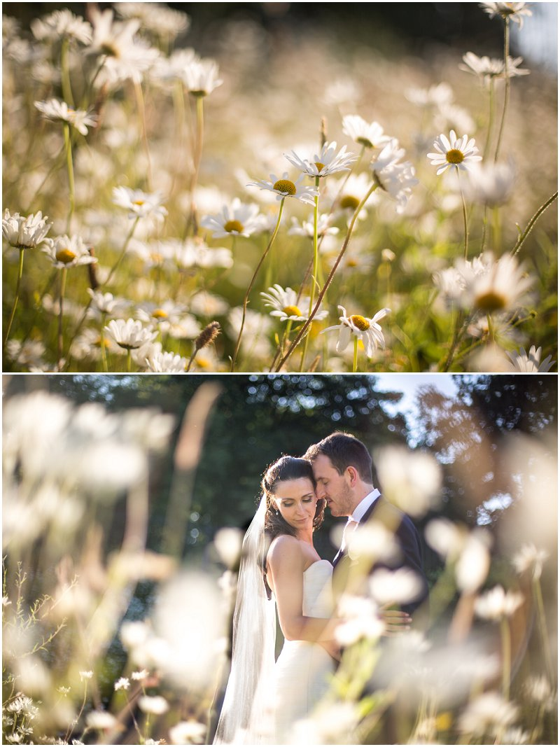 Beautiful Bride and Groom Portraits at Golden Hour | Karli Harrison Photography