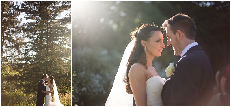 Bride and Groom Portraits at Sefton Park Liverpool