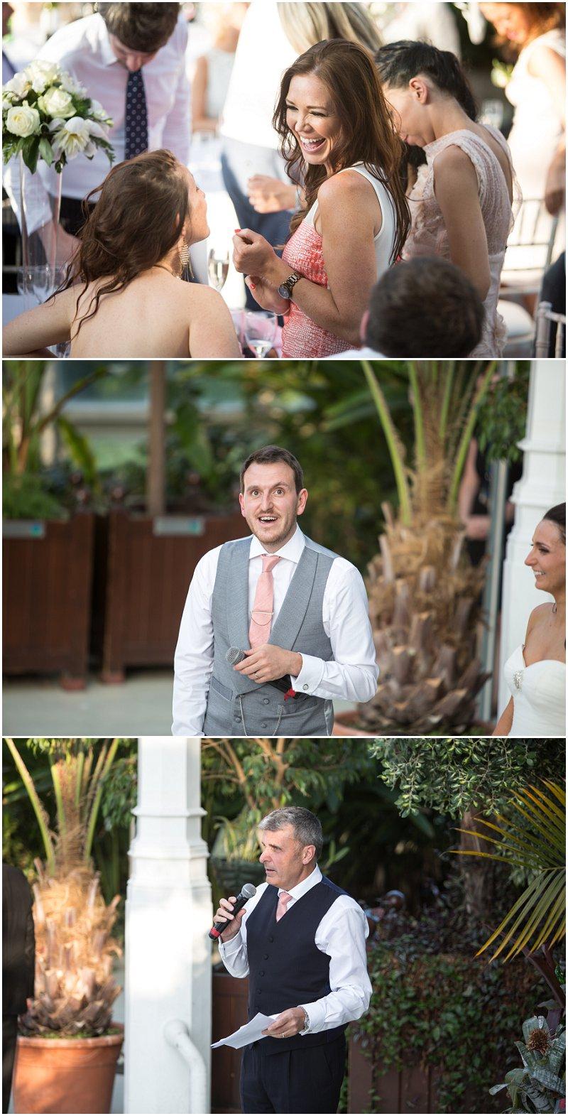 Speeches at Liverpool Wedding