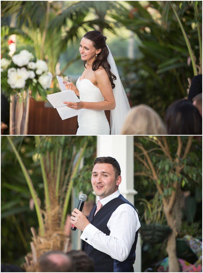 Wedding Speeches Palm House Liverpool