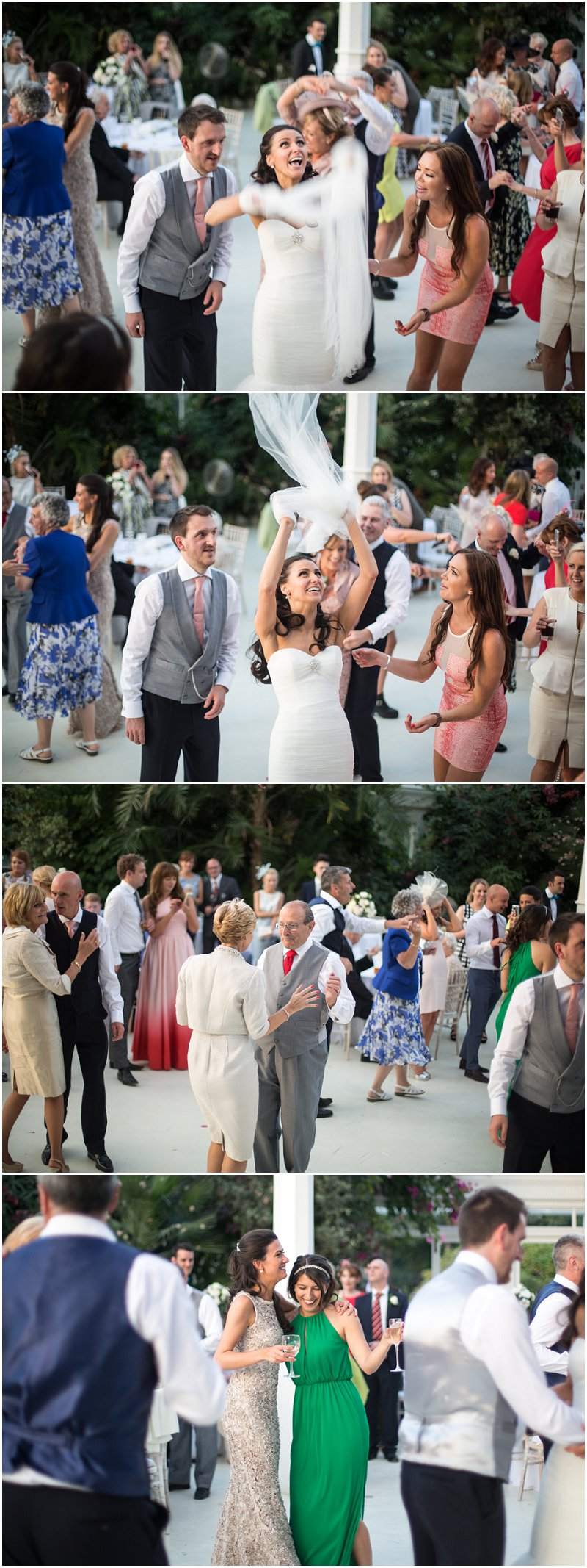 Fun and Natural Pictures at Sefton Palm House Wedding