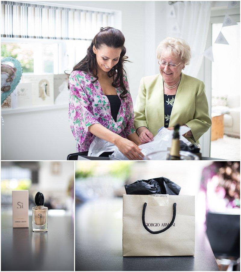 Armani Perfume and grandma of the Bride Liverpool