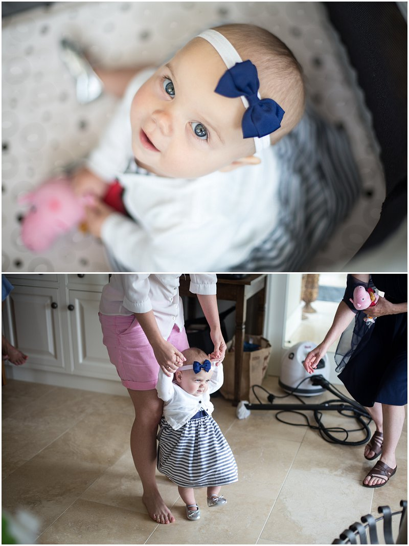 Beautiful Baby guest at Wedding in Anglesey