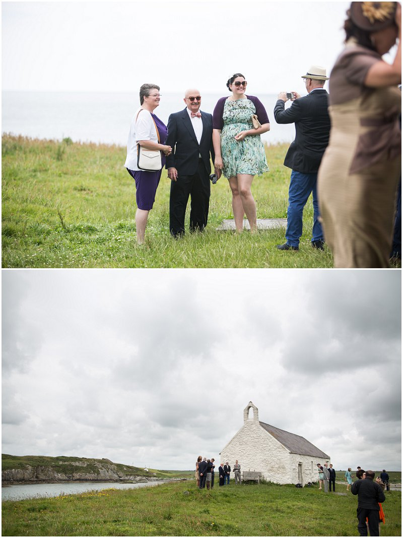 The Church on the Sea Anglesey, Wales Wedding Photographer
