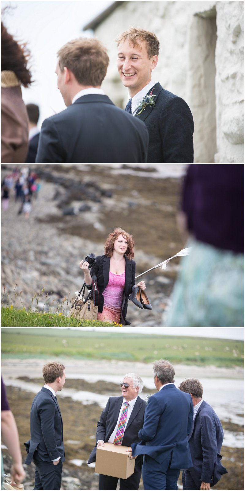 Beautiful Wedding Guests at Anglesey Wedding | The Church on the Sea Wedding Photographer