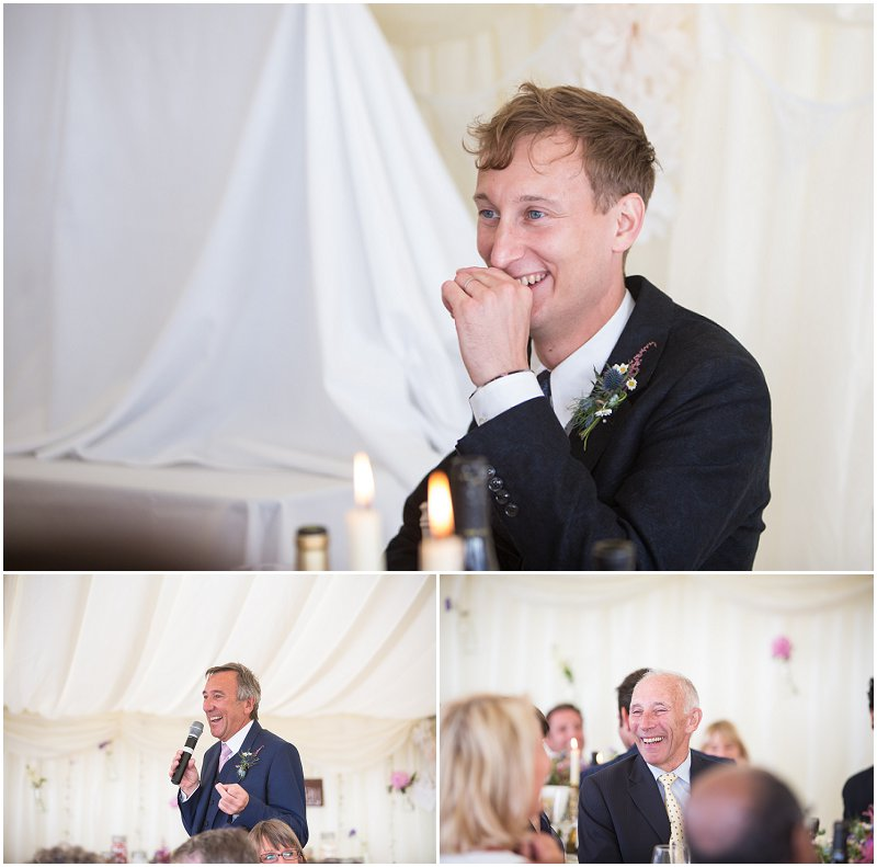 Father of the Groom speeches at Anglesey Wedding