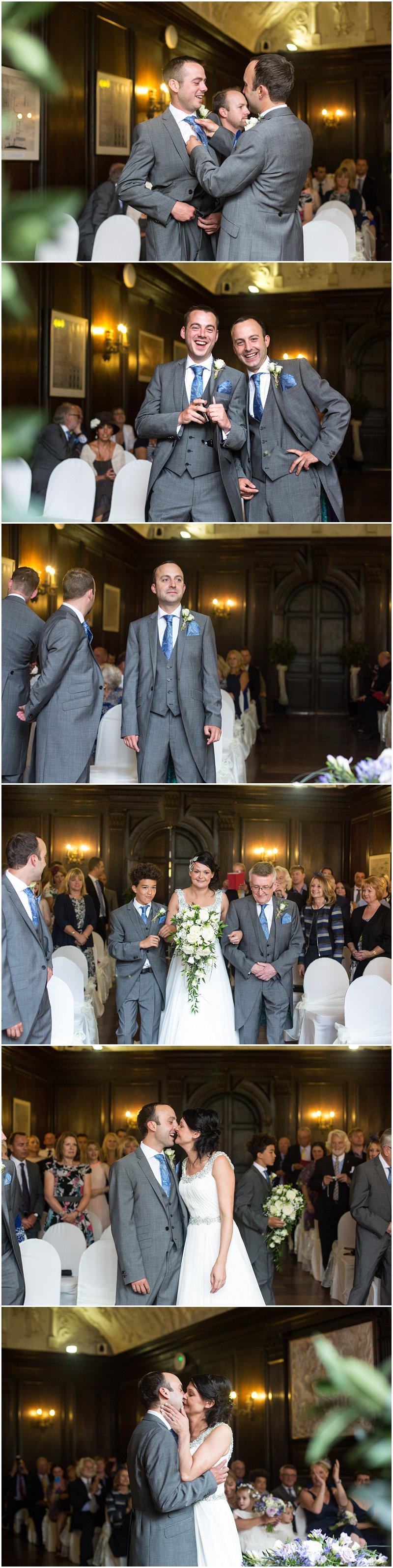 Hercules Hall Wedding at Portmeirion