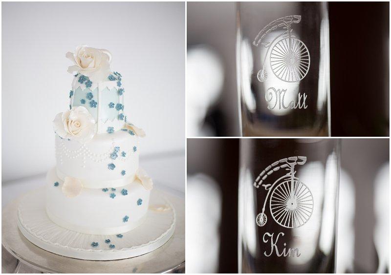 Wedding details at Portmeirion Wedding reception