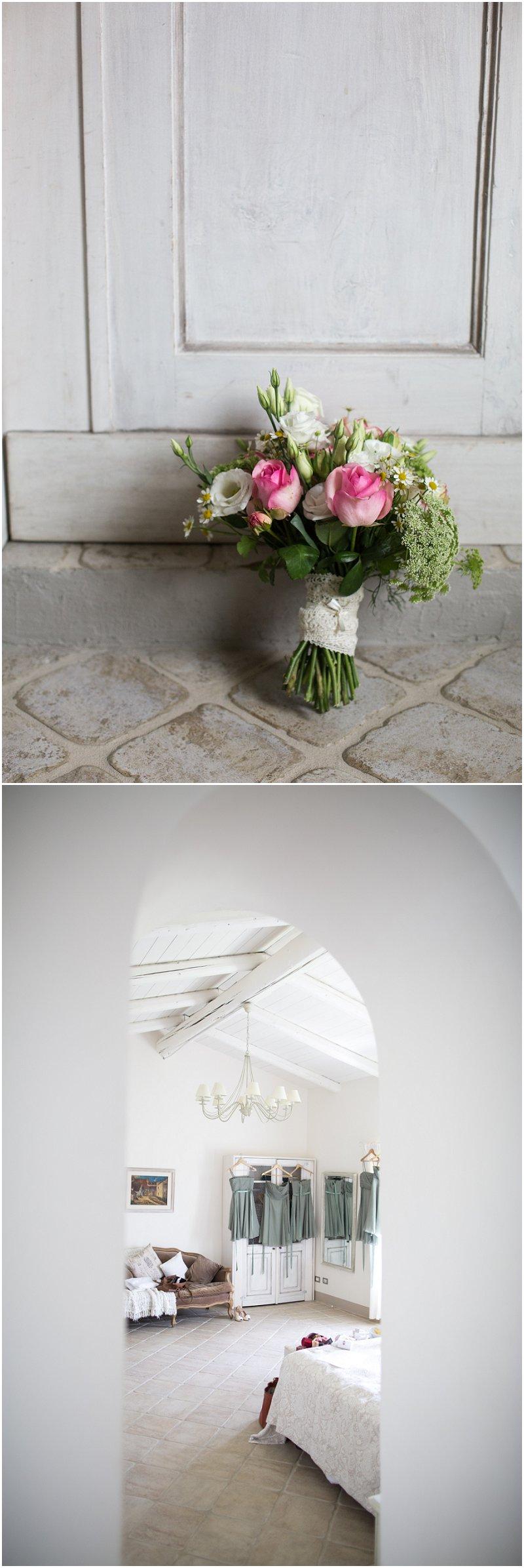 Stunning Wedding details at Wedding in La Villa Wedding Photographer