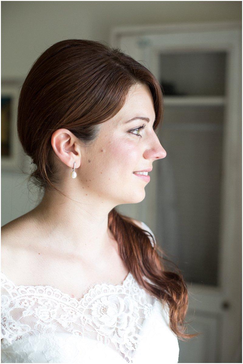 Bride at La Villa in Piedmont Italy | Destination Wedding Photographer