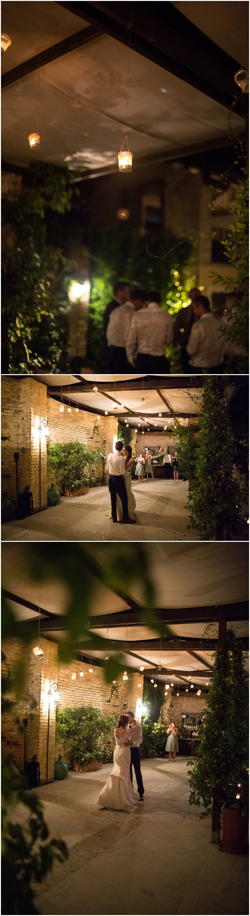 First Dance by Candle Light at La Villa, Piedmont Italy Wedding