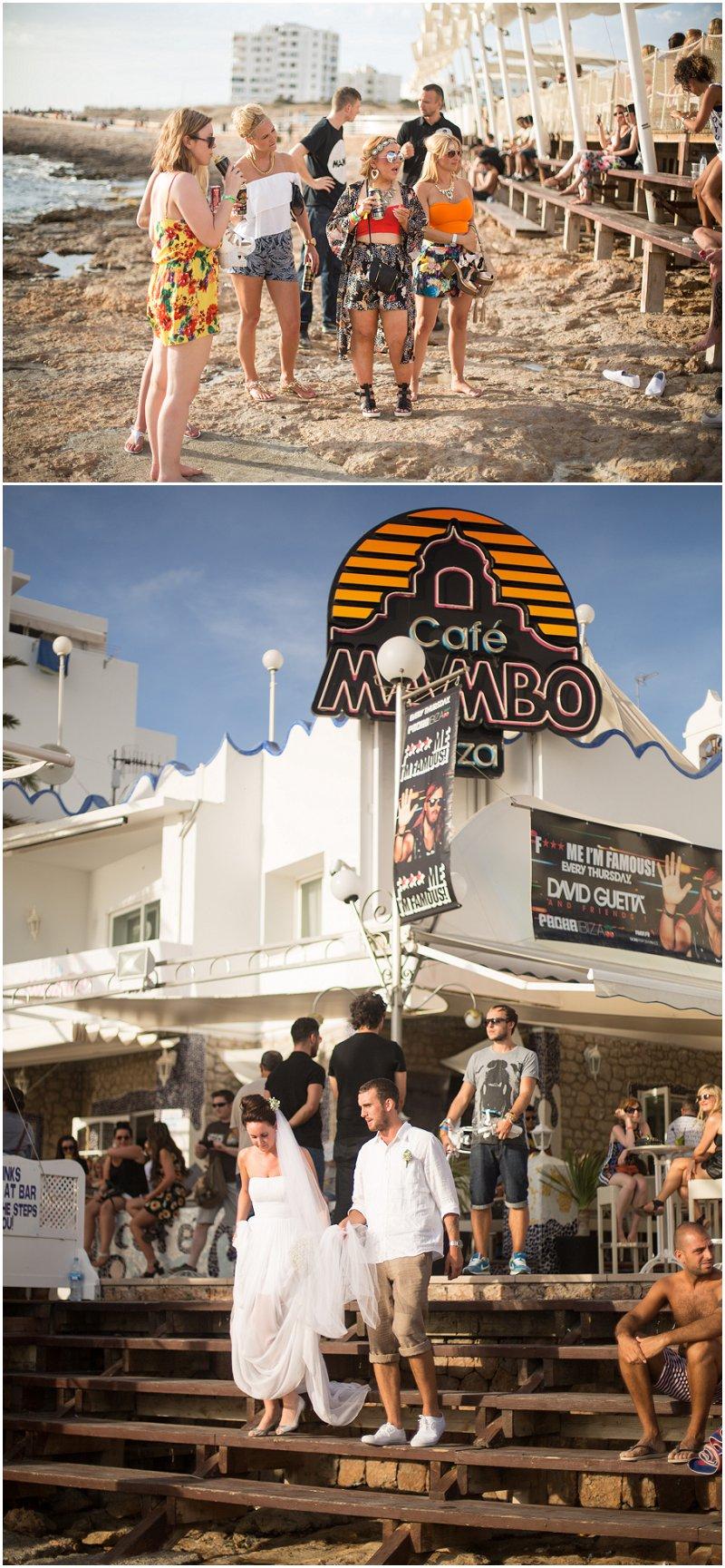 Cafe Mambo wedding photography Ibiza, Spain Destination Photographer