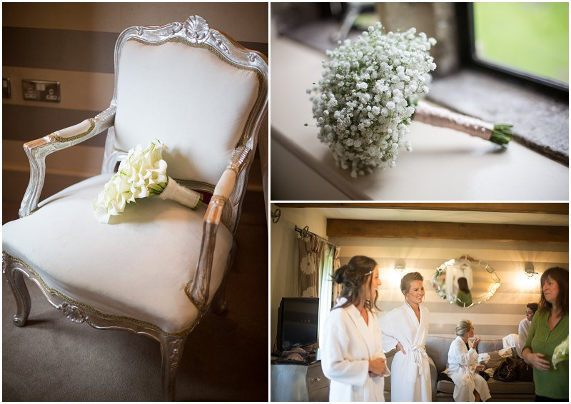 Flower details at Mellor Stanley House Hotel