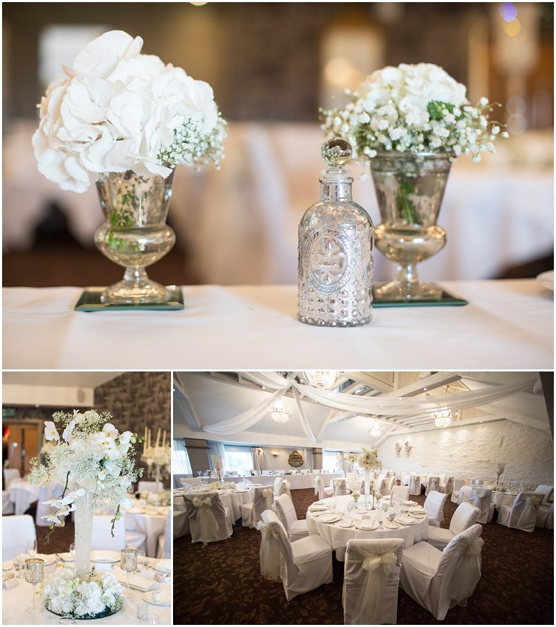 Beautiful wedding details at wedding at Stanley House Hotel, Mellor