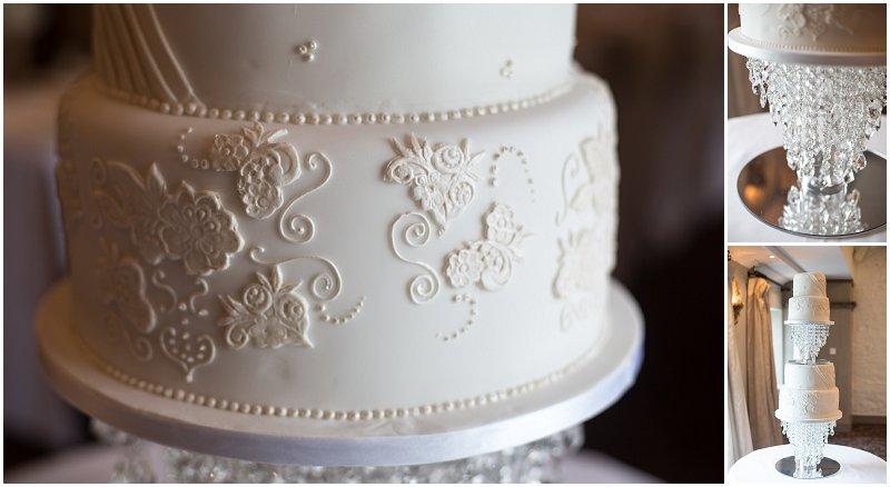 Beautiful Wedding cake Stanley House Mellor