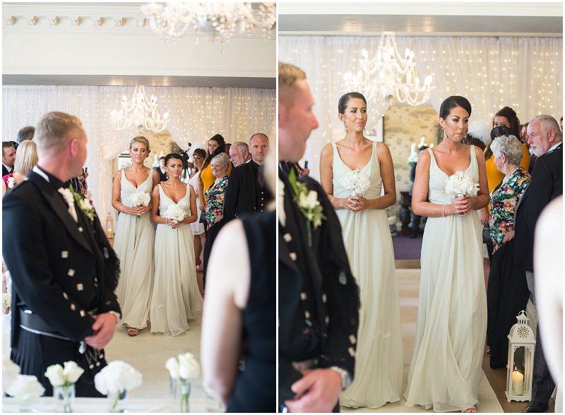 Bridesmaids at Eaves Hall