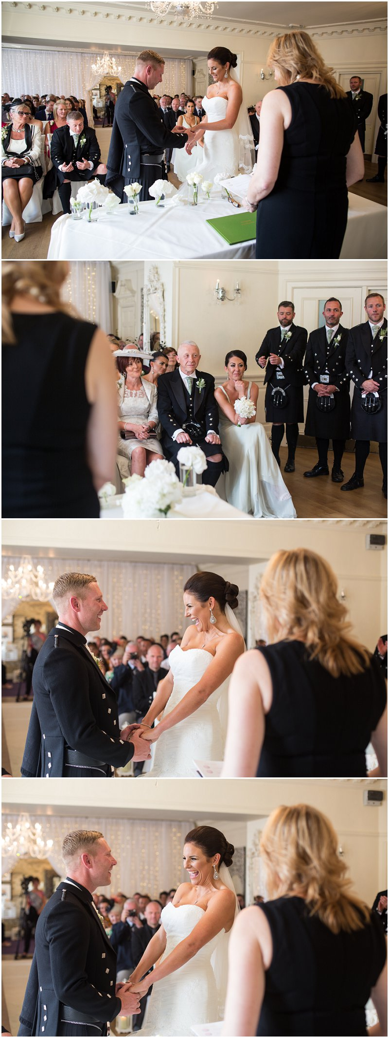 Wedding Ceremony at Eaves Hall