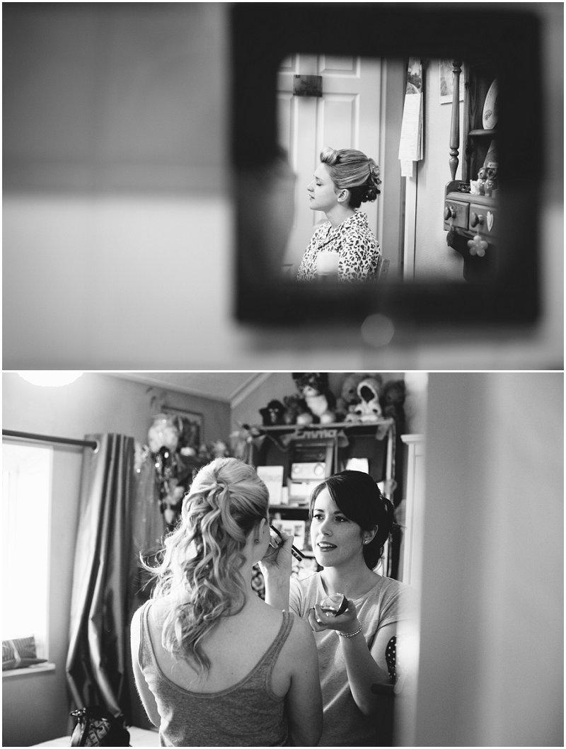 Bride prep Chester Photographer