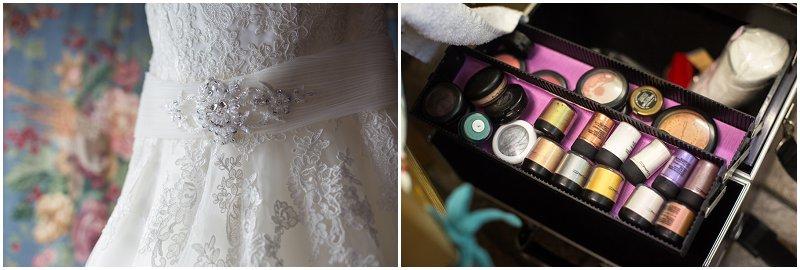 Bride prep details Chester