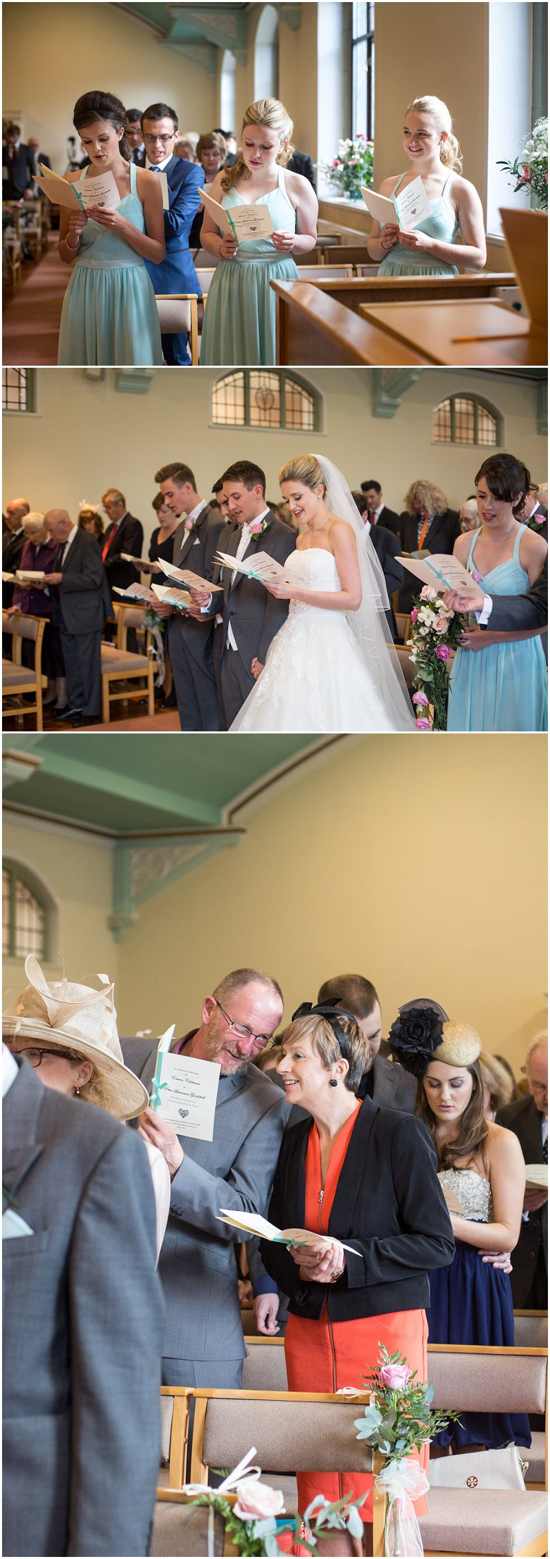 Ceremony at Chester wedding