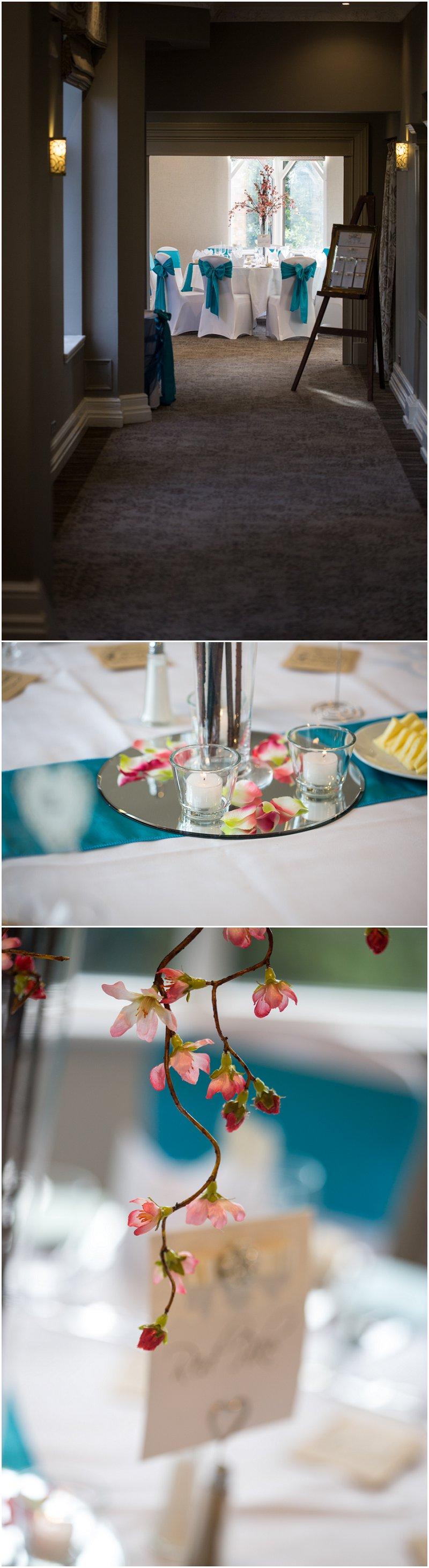 Wedding Breakfast at Crabwall Manor