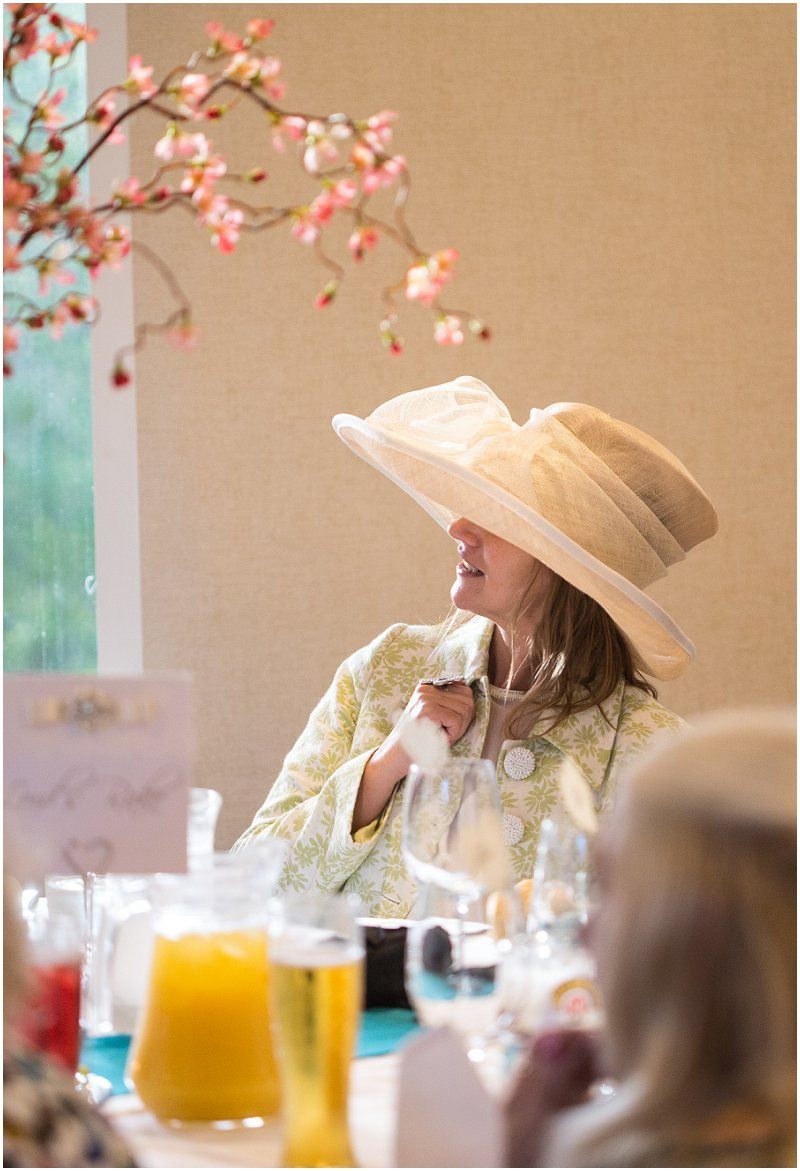 Wedding Breakfast Guest at Crabwall Manor