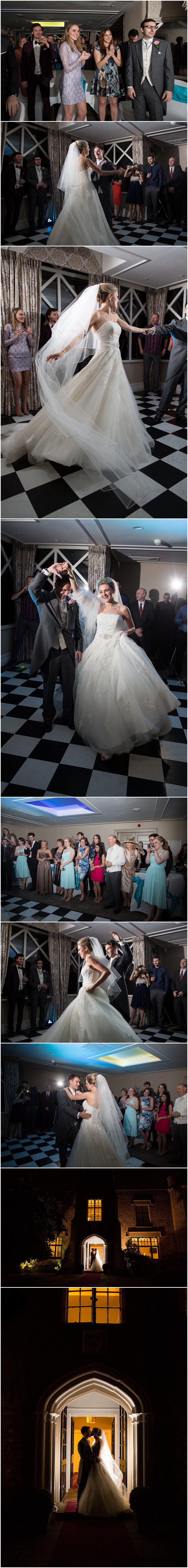 First Dance at Crabwall Manor wedding Chester