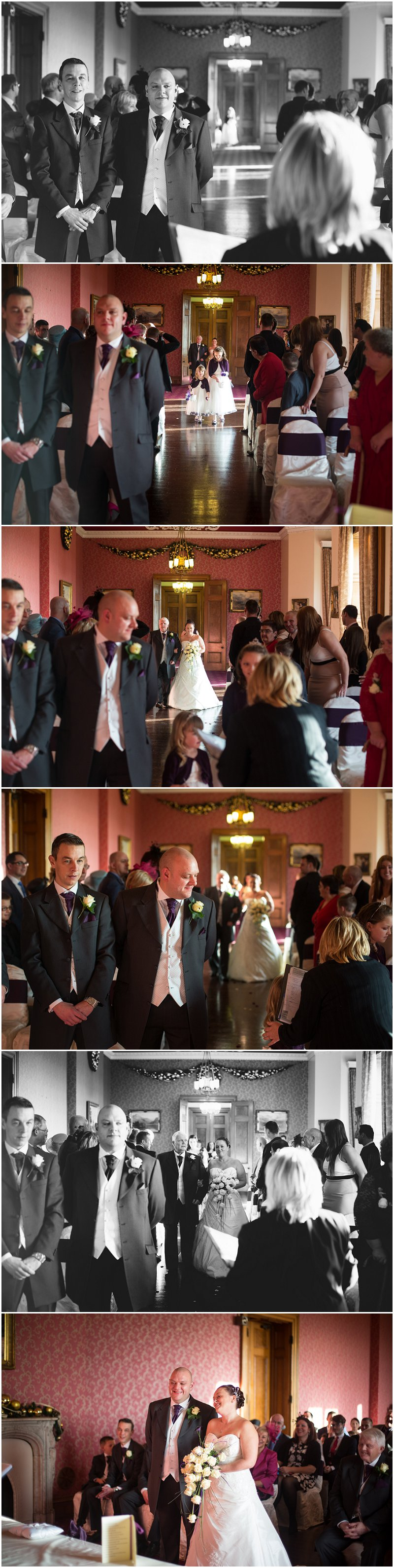 Wedding Ceremony at Haigh Hall, Wigan