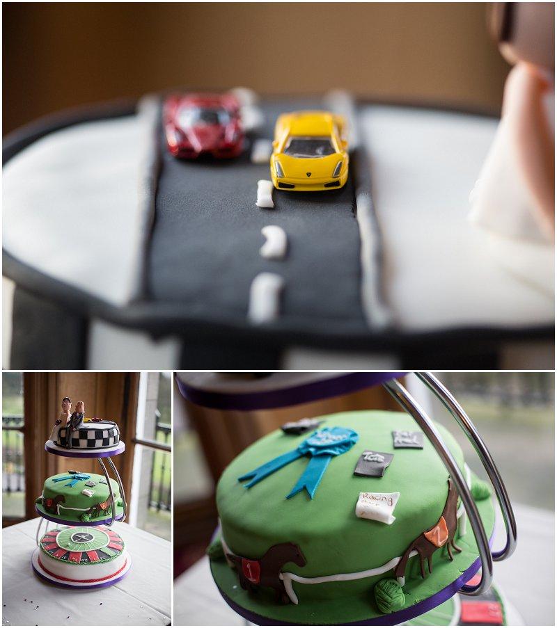 Wedding Cake Race Cars and Gambling