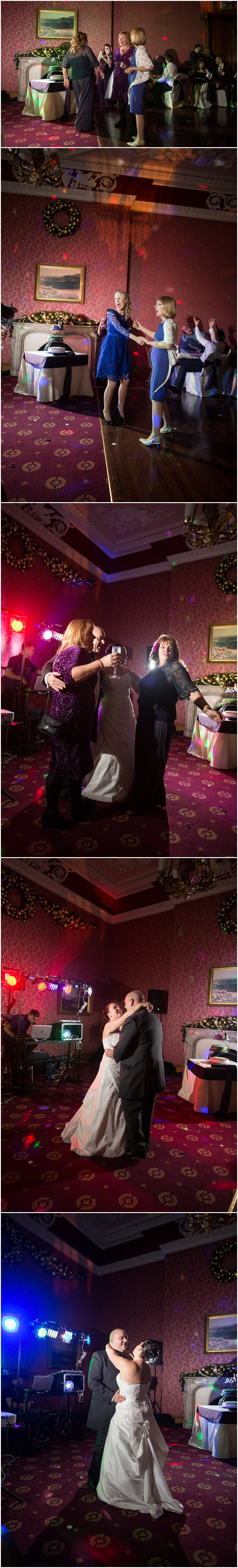 Evening Wedding Reception Haigh Hall Lancashire Photographer