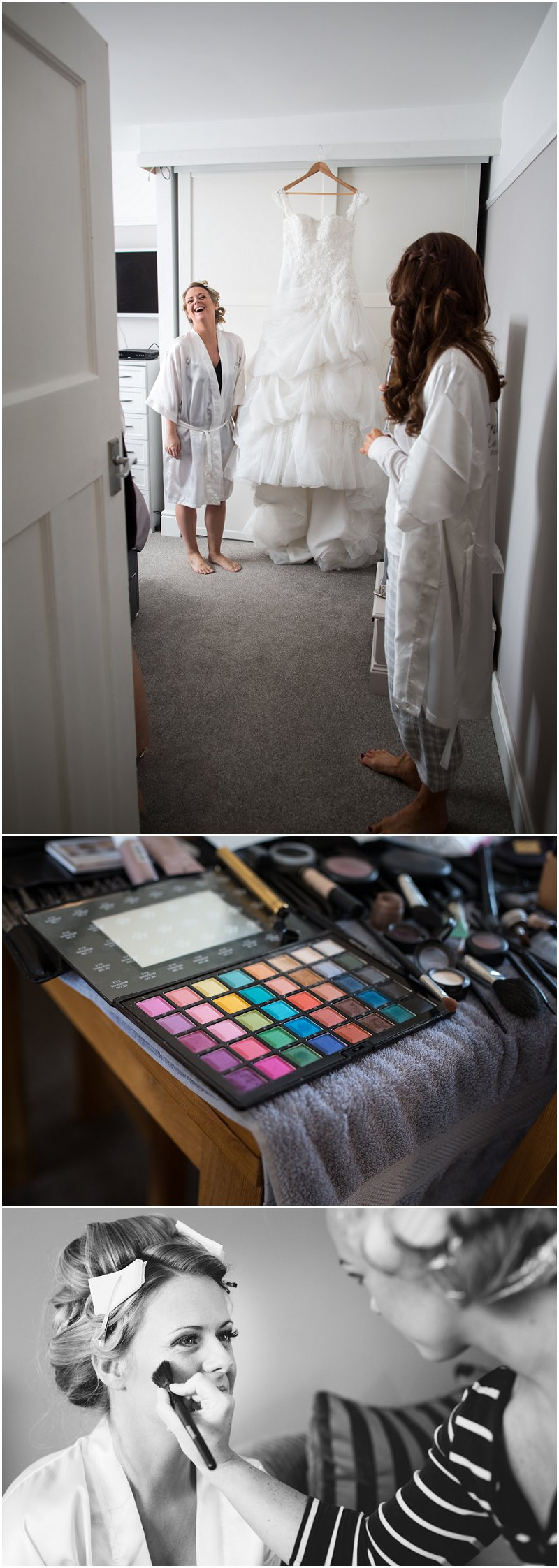 Bridal Prep pictures at a Sandbach wedding