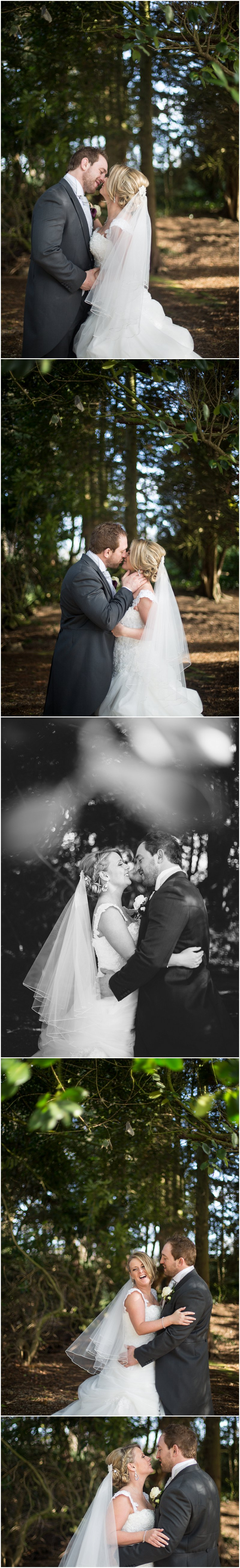 Beautiful bride and groom portraits at Knutsford Cheshire Wedding