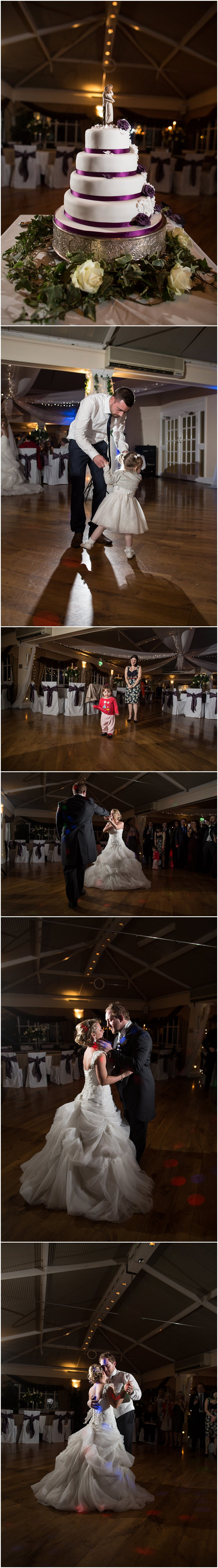 Off camera flash photographer at a wedding at The Mere Court Hotel Cheshire Wedding Photographer
