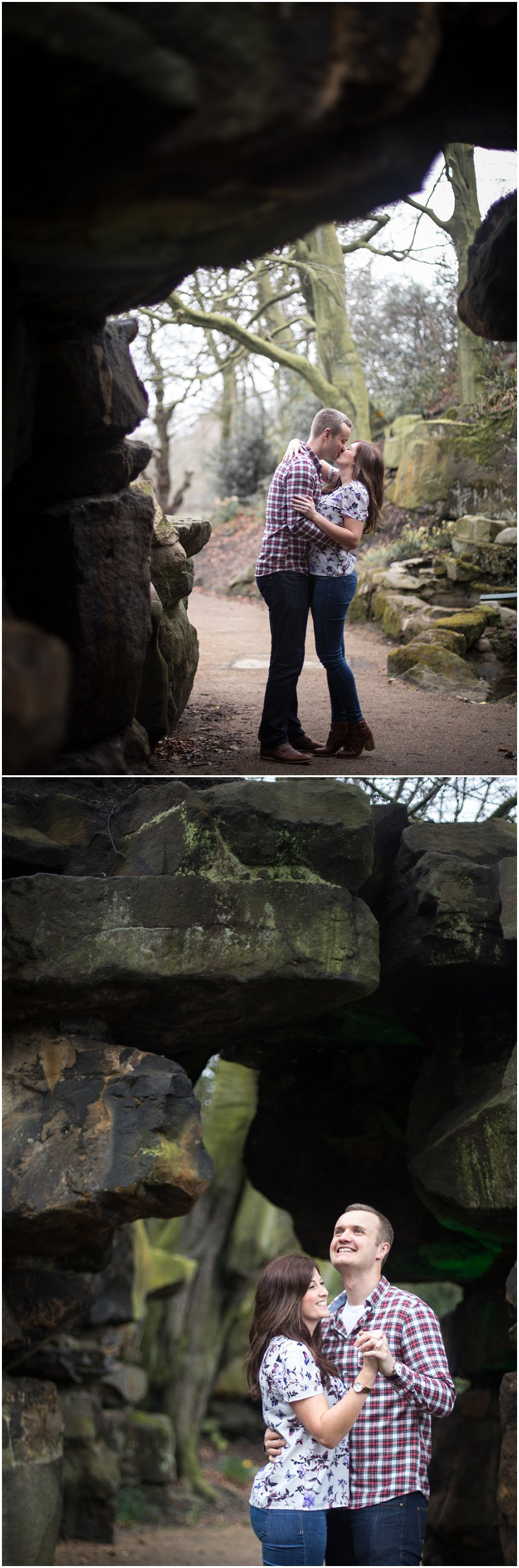 Engagement Photographer Lancashire Avenham Park