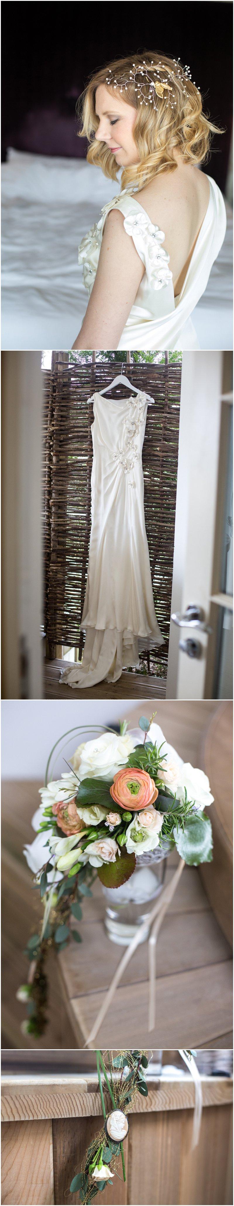 Beautiful Linthwaite House Wedding Bride Detail Shots