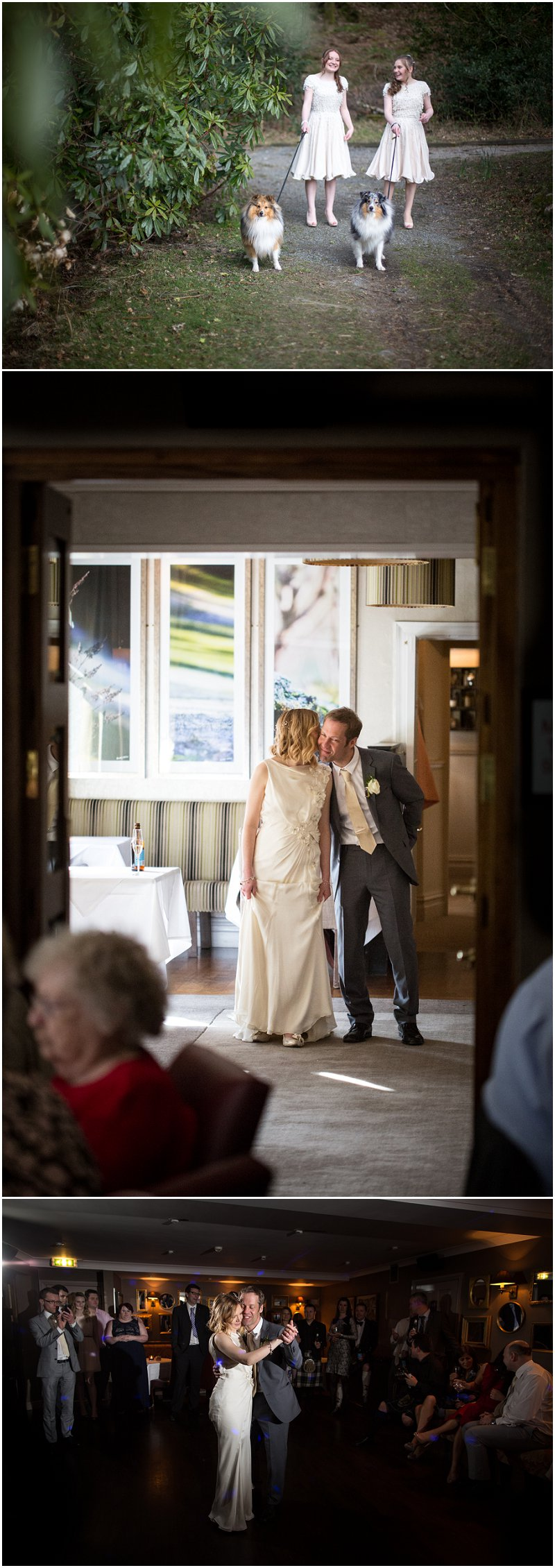 Wedding Sneak Peek Photographs at Linthwaite House Hotel