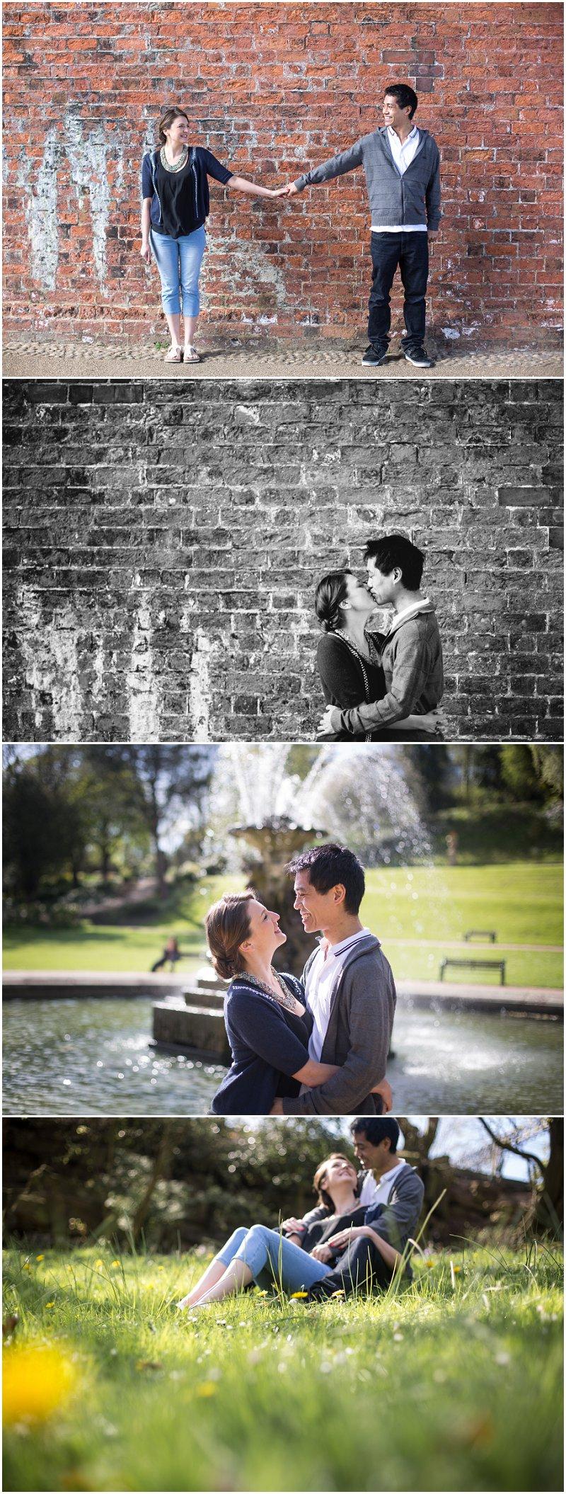 Preston Avenham Park Engagement Shoot Pre Wedding photography