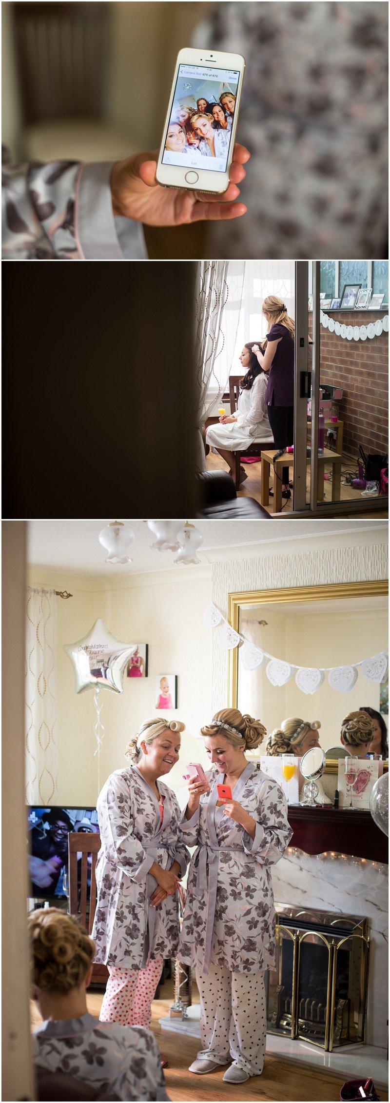 Wedding Photographer West Tower Wedding Venue Bride Prep