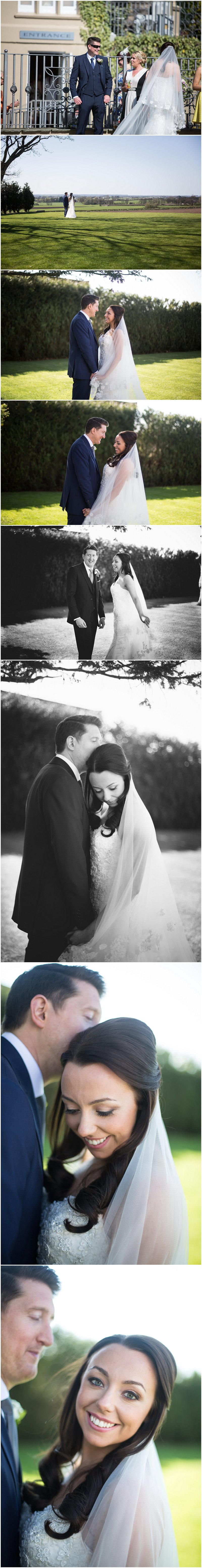 Bride and groom portraits at West Tower wedding venue Liverpool