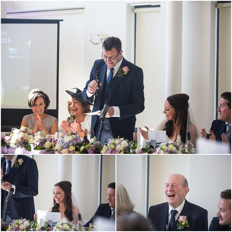 Father of the bride speech during wedding