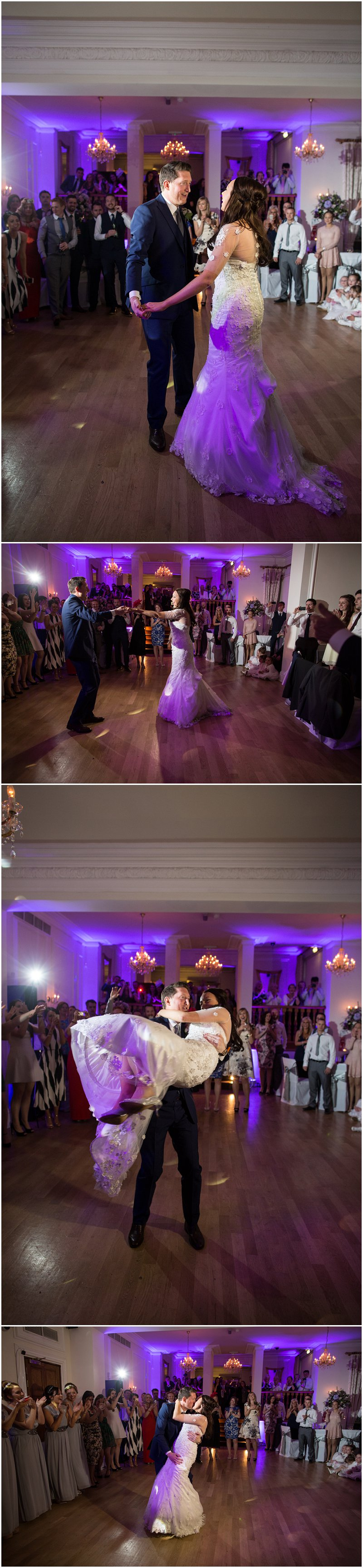 Beautiful first dance at West Tower