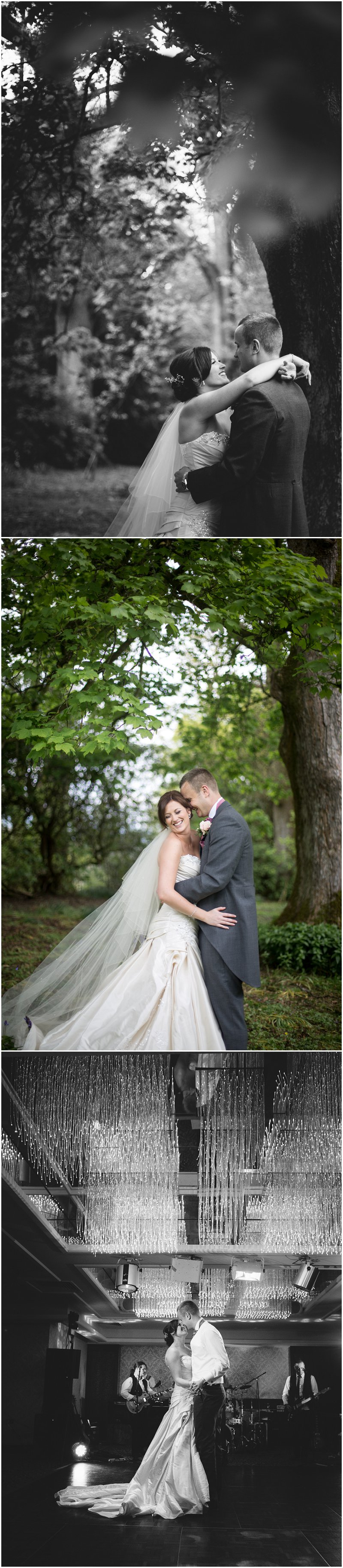 Gorgeous bride and groom portraits at Armathwaite Hall wedding | Photographer Cumbria