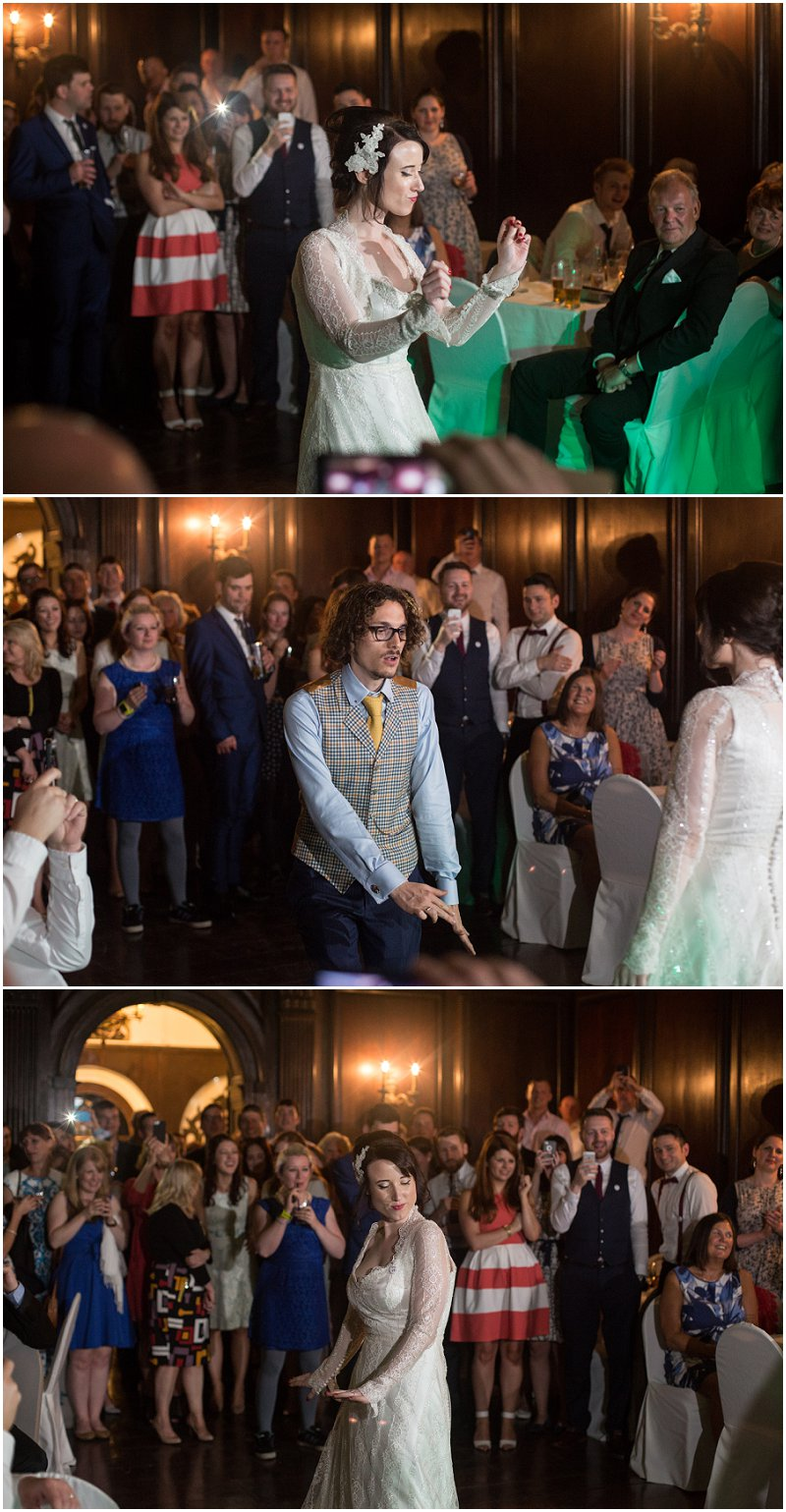 First Dance at Hercules Hall at Portmeirion Wedding Wales