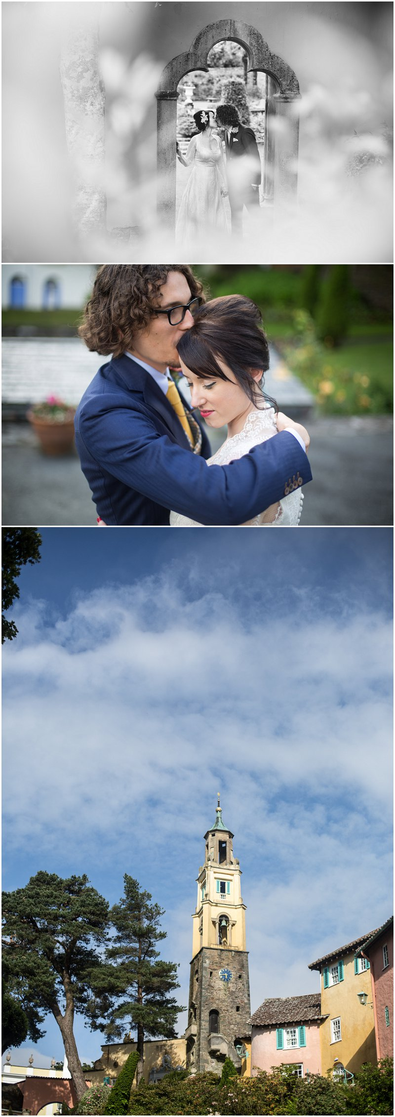 Wedding Photography at Pormeirion Wales
