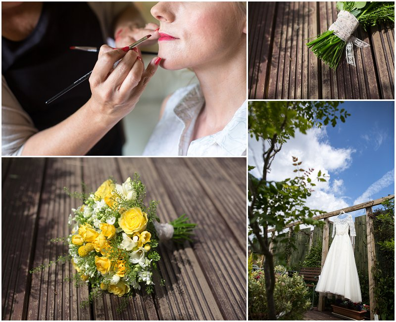 Cheshire and Wirral wedding photography bride prep shots