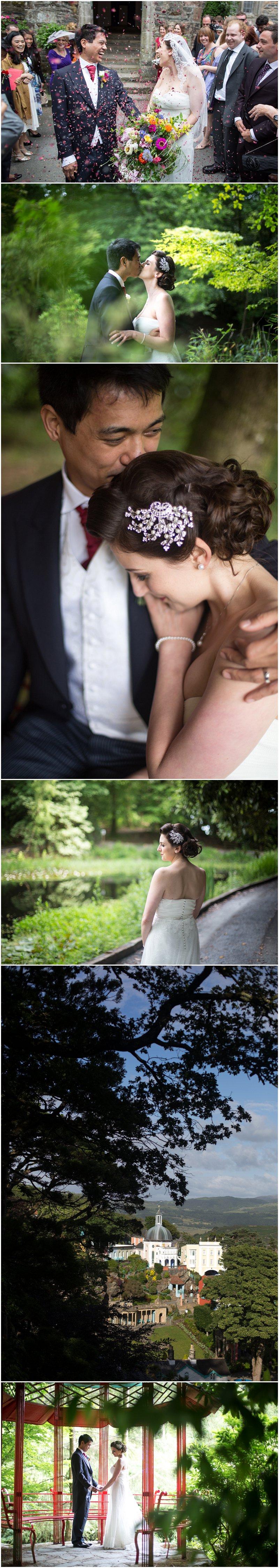 Wedding Photography Wales Portmeirion Photographer