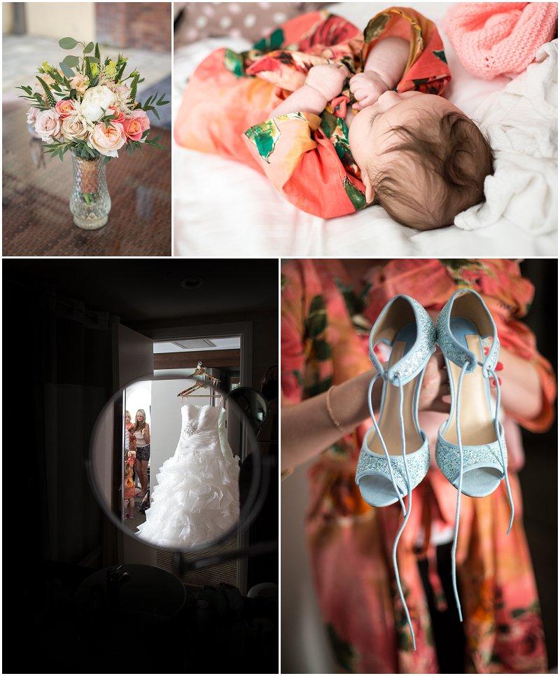 Coral Wedding theme Hilton Hotel Chester Photographer