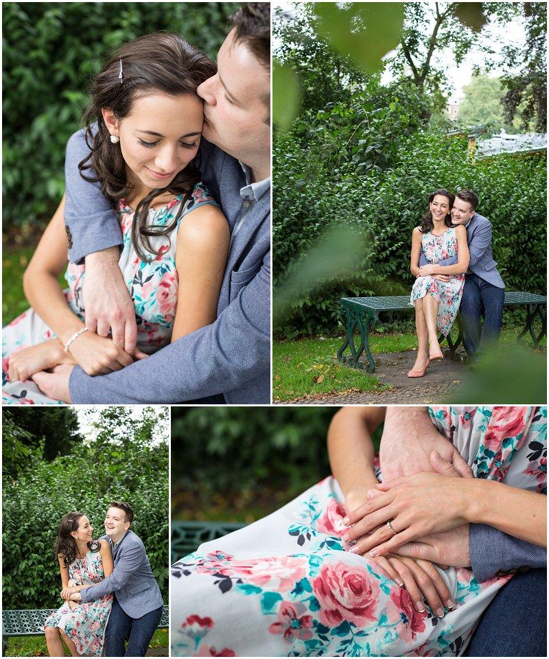 Pre Wedding Photo Shoot Avenham Park Preston Lancashire | Karli Harrison Photography