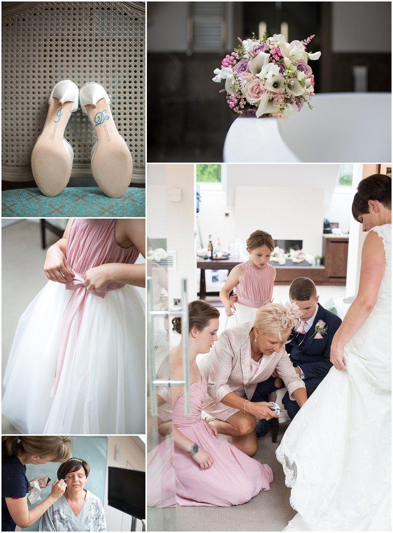 Linthwaite House Wedding Photographer Loft Suite